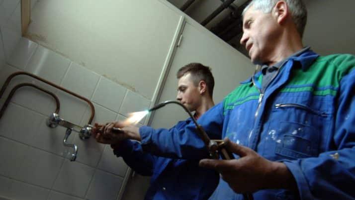 Attention aux arnaques de certains plombiers !