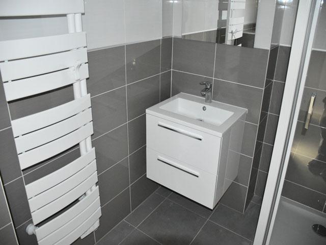 meuble suspendu salle d'eau