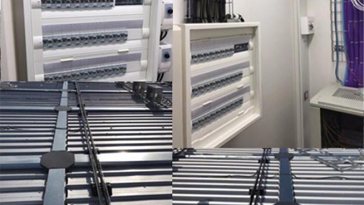 Tableau électrique climatisation