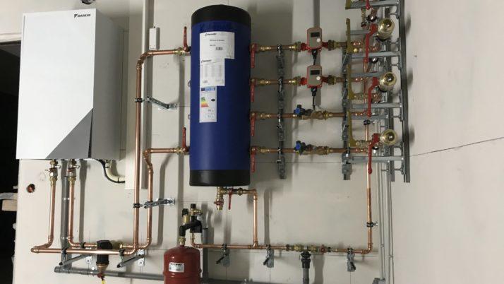 Pompe à chaleur AIR/ EAU