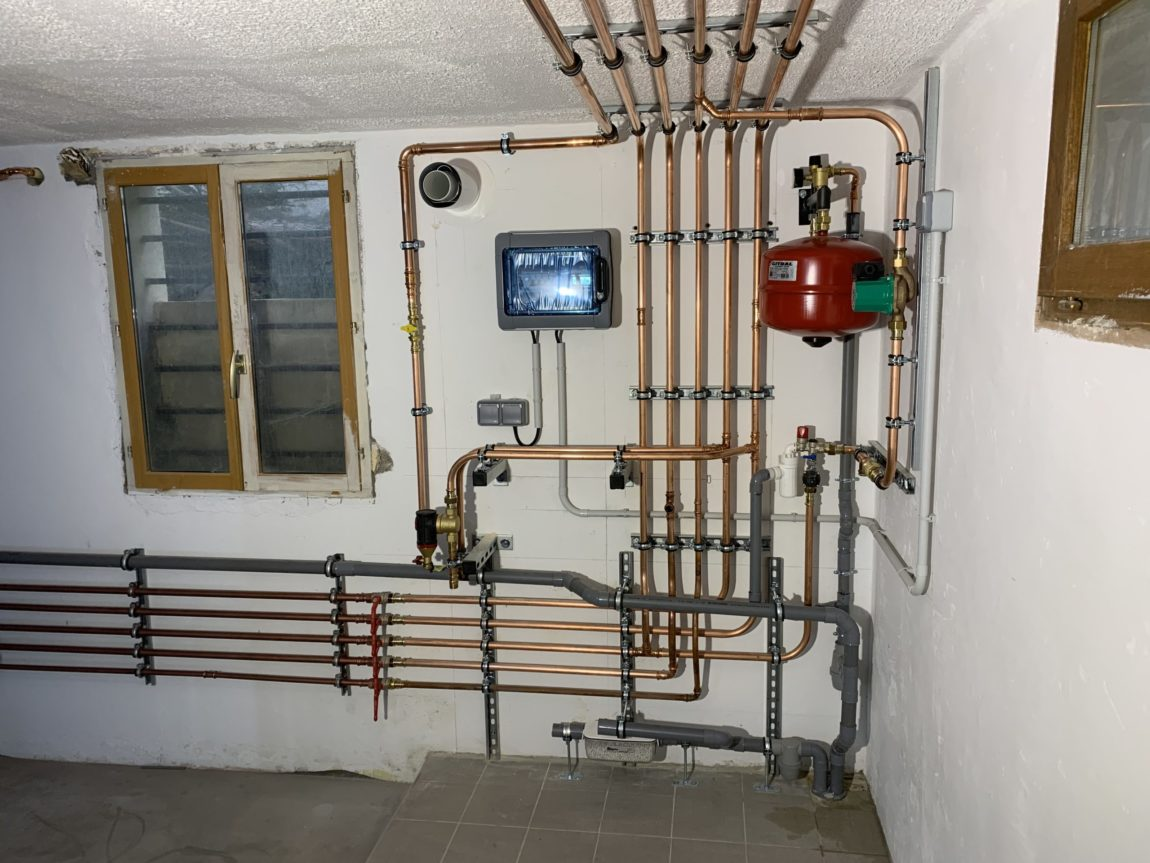 Réseau plomberie/ chauffage
